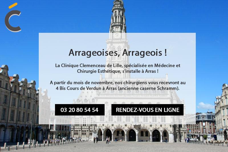La clinique Clémenceau s'installe à Arras
