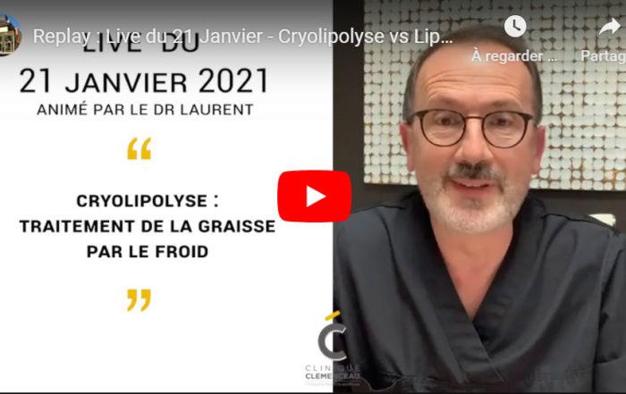Cryolipolyse ou liposuccion ? Clinique Clémenceau à Lille