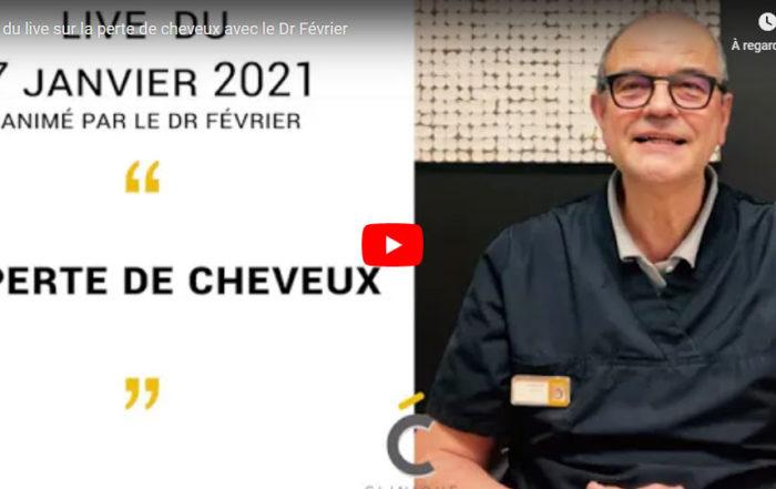 La perte des cheveux en vidéo - Clinique Clemenceau à Lille