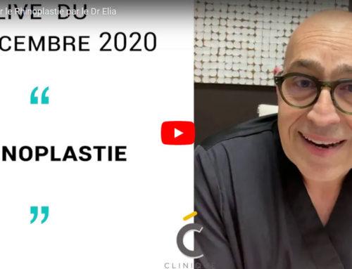 La rhinoplastie chirurgicale – Dr André Elia vous explique en vidéo