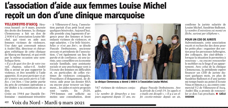 Journée de la femme - Clinique Clemenceau