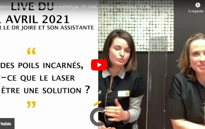Les traitemetns laser en médecine esthétique - Clinique Clemenceau