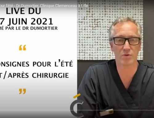 Les consignes pour l'été en vidéo par le Dr dumortier