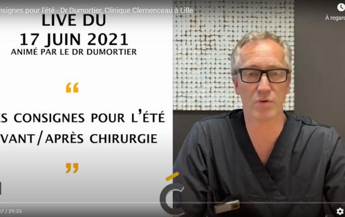 Les consignes pour l'été - Clinique Clemenceau